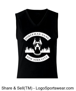 B-Core Ladies' Sleeveless Tee Design Zoom